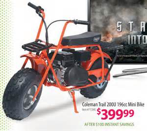 home depot black friday ad comments coleman trail 200u 196cc mini bike bj s wholesale club