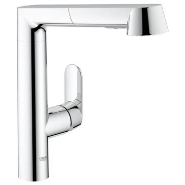 grohe k7 kitchen faucet grohe 32178000 k7 main sink dual spray pull out kitchen