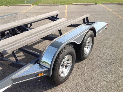 boat fenders on trailer aluminum plate on fenders heritage trailers