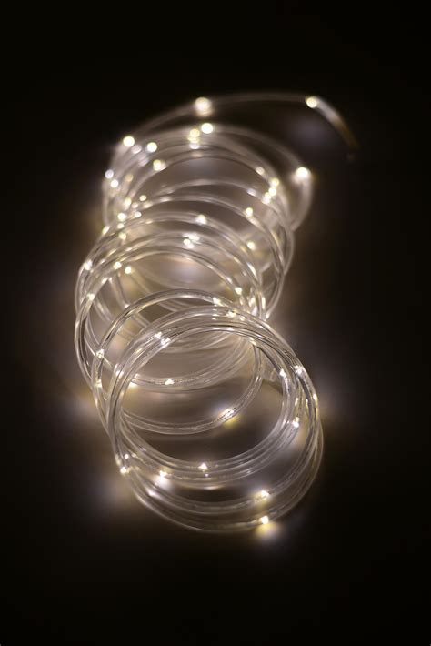 mini led rope light warm white ft ct