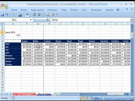 best photos of professional table of contents exle professional table of contents template highline excel class 20 pivot tables 20 exles