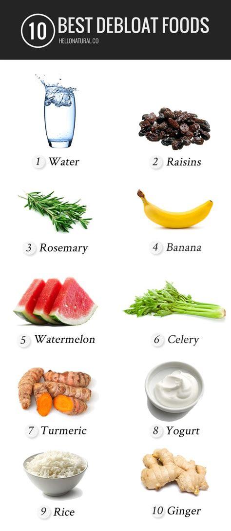 Detox Debloat Diet by 10 Best Anti Bloat Foods See Best Ideas About Thank U