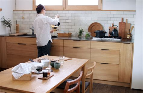 moon to moon an earthy japanese home kitchen of the week a custom culinary workspace by a
