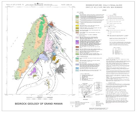 map of grand grand manan interactive map
