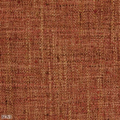 Poppy Upholstery Fabric by Poppy And Orange Herringbone Texture Upholstery Fabric