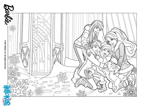 Skipper Barbie Stacie And Chelsea Coloring Pages Skipper Coloring Pages