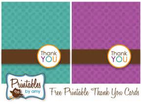 printable thank you card template rynakimley