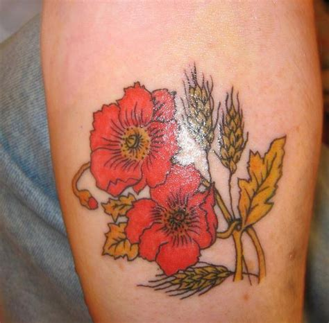 flower garden tattoo designs poppy tattoos designs ideas and meaning tattoos for you