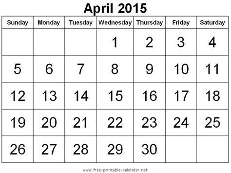 online printable calendar april 2015 free printable calendar free printable calendar april