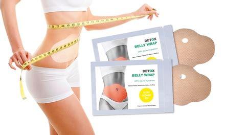 Detox Wrap Groupon by Detox Slimming Belly Wrap Set Groupon Goods