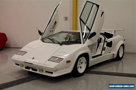 Lamborghini For Sale In Canada 1988 Lamborghini Countach For Sale In Canada