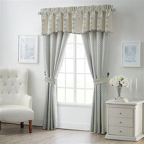 waterford drapes waterford 174 linens allure window curtain panels and valance