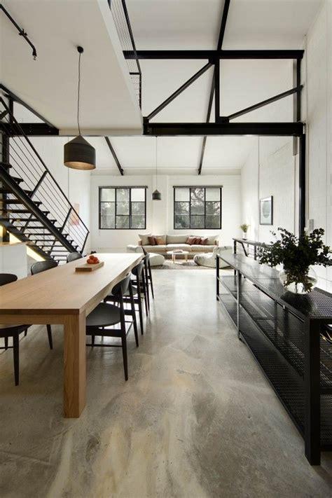 concrete loft 25 best ideas about polished concrete on pinterest