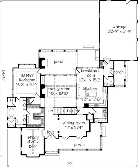 Elberton Way House Plan Southern Living House Plans Elberton Way House Design Plans