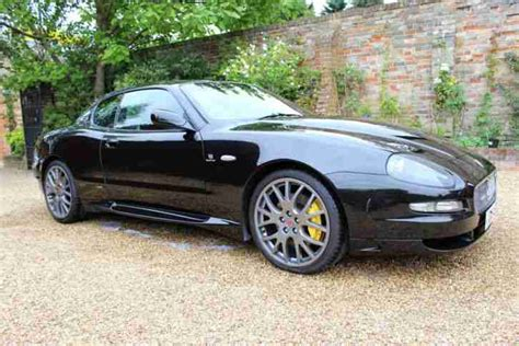 maserati coupe black maserati gransport coupe v8 black 2005 car for sale