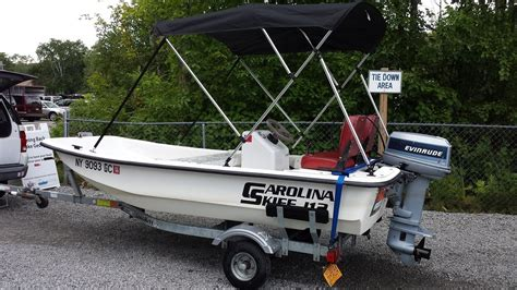 used boat parts new york carolina skiff j12 boat for sale from usa