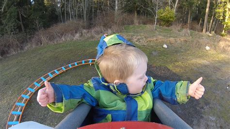 backyard roller coaster 1funny