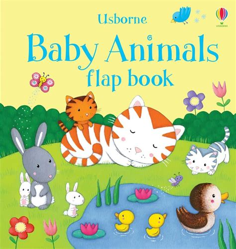 baby picture books baby animals flap book at usborne books at home