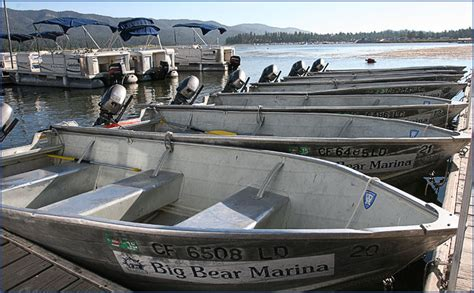 big bear pontoon rental big bear marina boat rentals for pontoon fishing