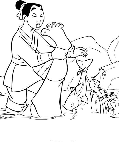 Printable Mulan Coloring Pages Coloring Me Disney Mulan Coloring Pages