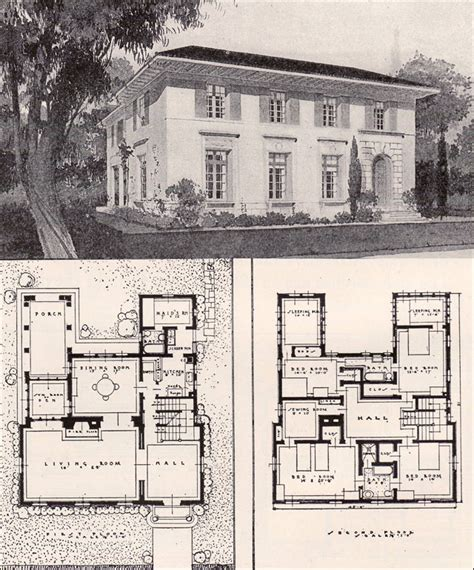 palace house plans italian renaisance style house 1916 ideal homes in garden communities