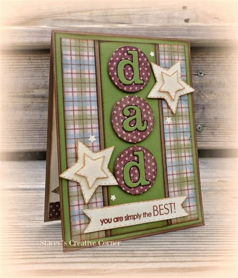 Fathers Day Handmade Cards - handmade s day card from stacey s creative corner
