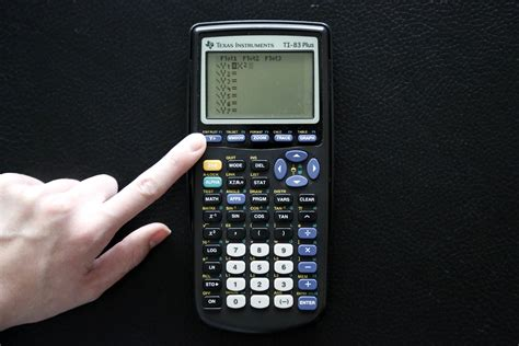 resetting window on ti 84 how to use a ti 83 plus graphing calculator 8 steps