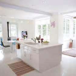 White Kitchen Islands by 39 Inspiring White Kitchen Design Ideas Digsdigs
