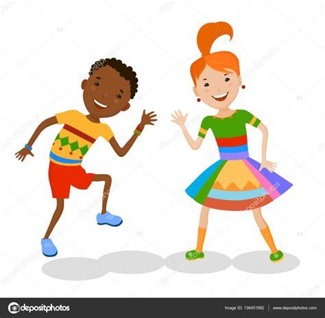 imagenes de niños jugando y bailando ni 241 os bailando en trajes coloridos archivo im 225 genes