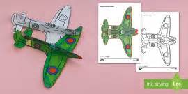 How To Make A Paper Spitfire - history timeline posters britain timeline posters
