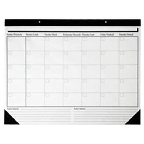 office depot desk calendar office depot brand undated desk pad calendar 17 x 22 by