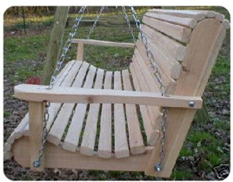 homemade bench swing cypress rollback swing