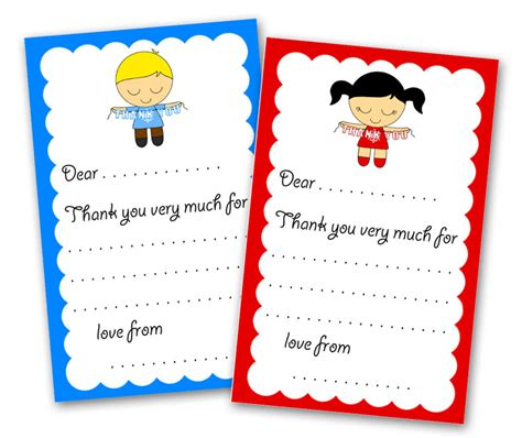printable thank you letters etsykids thank you letter printable