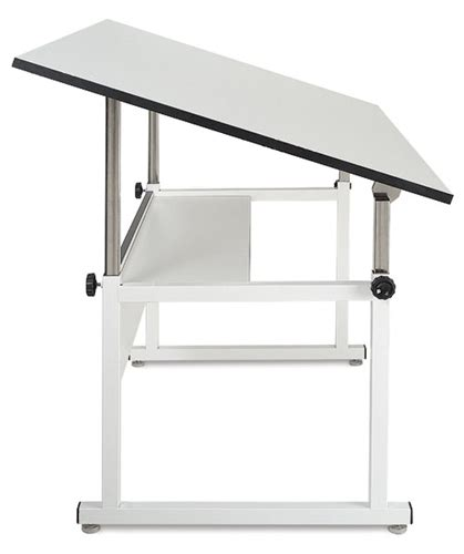 Drafting Table Canada College Steel Four Post Drafting Table With 30 X 42 Top Alfaplanhold Your Canadian One