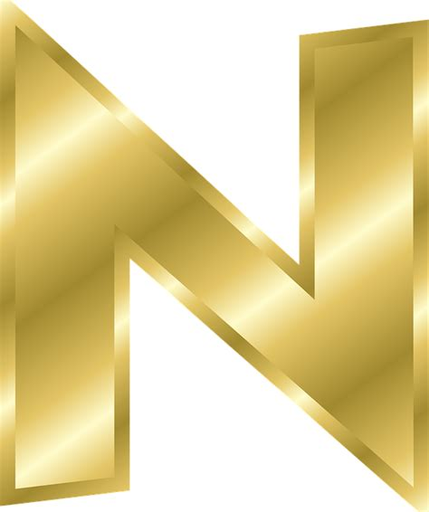 N A S letter n dr