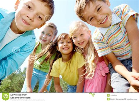 Royalty Free School Children Stock by Five Happy Stock Image Image Of Casual