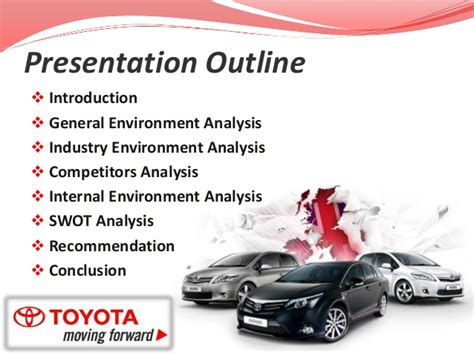 Strategic Management Of Toyota Company Strategic Management Toyota Study