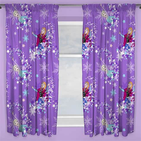 disney curtain girls character curtains disney frozen peppa pig pony