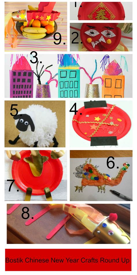 new crafts bostik new year crafts tots 100