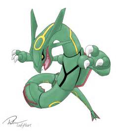 rayquaza by leafyheart on deviantart