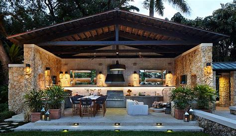 Guy Fieri Backyard 20 Outdoor Kitchens Perfect For The Summer