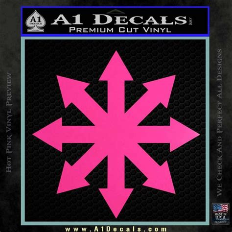 Kaos Jkt48 Pink Free Sticker warhammer chaos kaos decal sticker 187 a1 decals