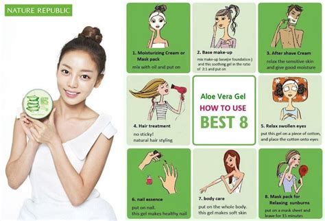 Nature Republic Aloe Vera Soothing Gel Hair Treatment review nature republic soothing moisture aloe vera 92