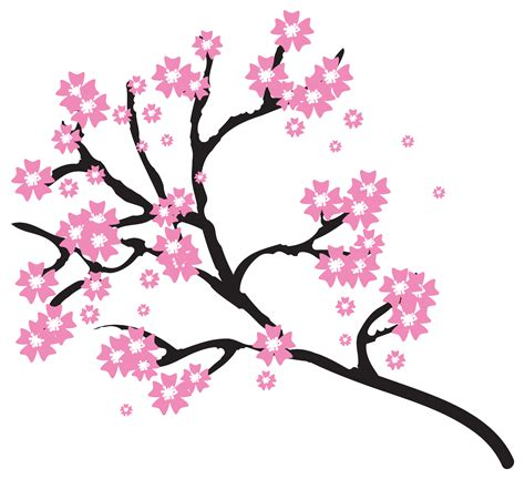 Japanese Wedding Clip by Cherry Blossom Flower Clipart Clipartxtras