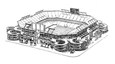 coloring page of a football field coloring pages football coloring pages free and printable