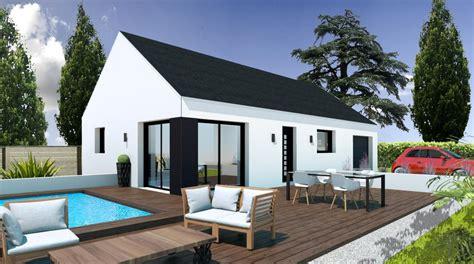 prix maison neuve 2 chambres construction plain pied 2 chambres a languidic pas cher