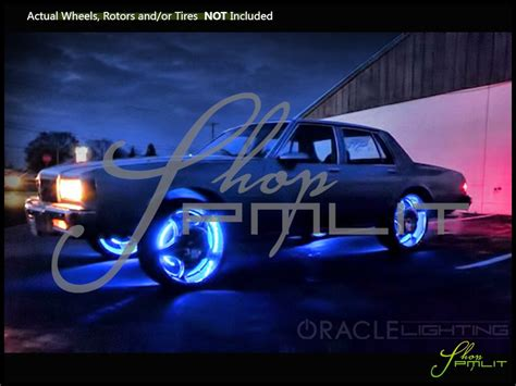 Car Led Lights Bulbs Oracle Lighting Illuminated Led Wheels Lights Halo Rims Rings
