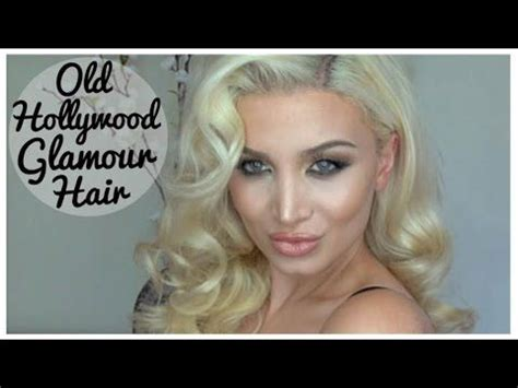 old hollywood glamour hairstyles tutorial old hollywood glamour hair tutorial easy inspired by kim