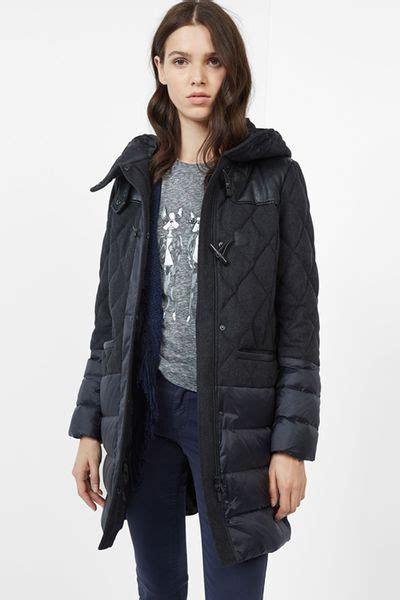 doudoune femme comptoir des cotonniers manteau femme doudoune parka duffle coat manteau