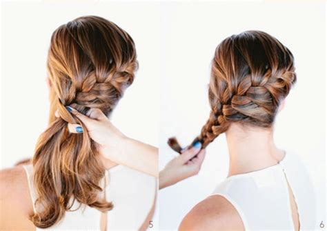 put your hair in a bun with braids picture of diy beautiful french braid bun hair for your